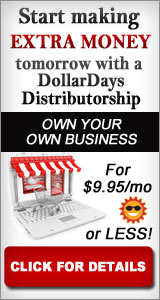DollarDays Distributorship $9.95 Promotion