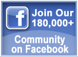 Join our 180,000+ community on Facebook