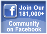 Join our 181,000+ community on Facebook