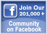Join our 201,000+ community on Facebook