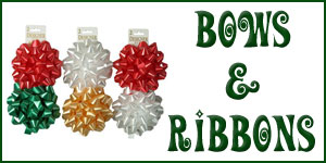 Wholesale Christmas Bows & Ribbons