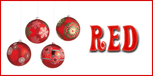 Wholesale Red Ornaments