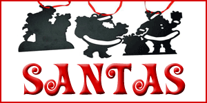 Wholesale Santa Ornaments