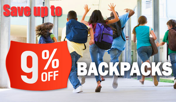 Wholesale Backpacks - Save up to 9%