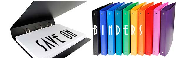 Wholesale Binders