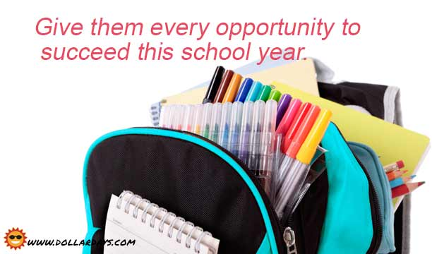 Thousands of individual items, sold per pieces for schools