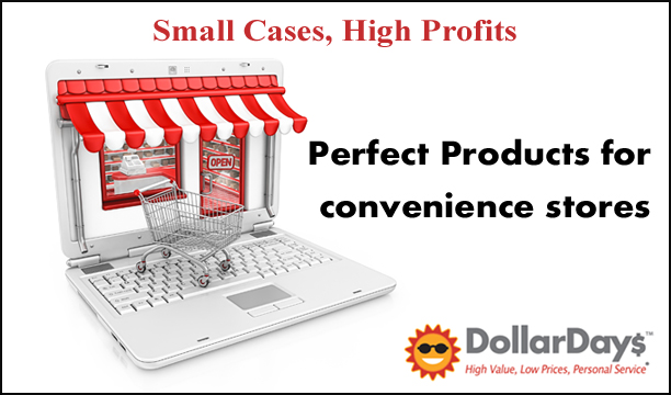 wholesale small cases, high profits items for convenience stores