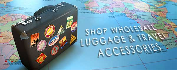 Shop Wholesale Luggage and Travel Items