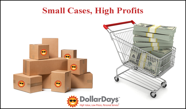 wholesale small cases, high profit items for stores