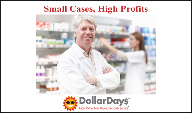wholesale small cases, high profit items for pharmacies