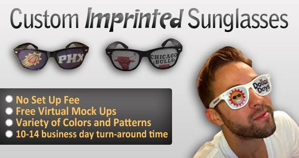 Custom Imprinting Sunglasses