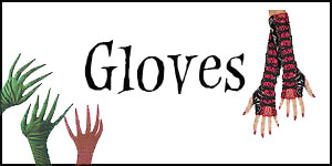 Wholesale Halloween Costume Gloves