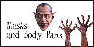 Wholesale Halloween Masks and Body Parts
