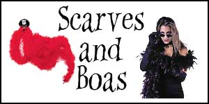 Wholesale Halloween Scarves and Boas