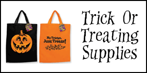 Wholesale Trick or Treat Supplies
