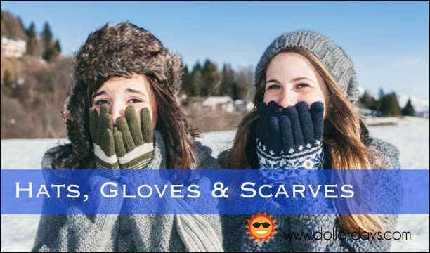 Thousands of hats gloves and scarves at wholesale prices everyday!