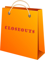 Wholesale closeouts sold individually