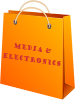 Wholesale media and electronics sold by the piece