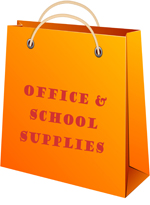 Wholesale office and school supplies sold individually