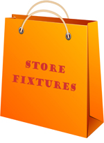 Wholesale store fixtures sold by the piece
