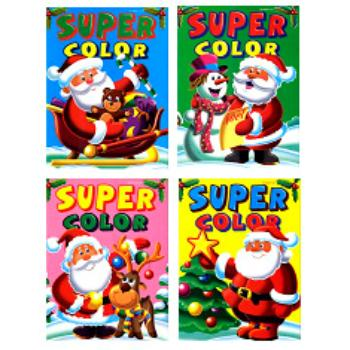 CHRISTMAS Super Color Coloring Book (412385)
