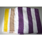 28x58 Terry Velour Cabana beach towel