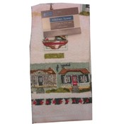 Printed &quot;Cottage by the Lake&quot; Kitchen Towel