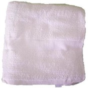 Terry White Bath Towel 24 x 48