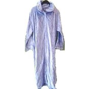 Purple Velour Bathrobe