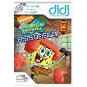 LeapFrog Didj Game SpongeBob Fists of Foam