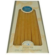 Natural Beeswax Chanukah Candles