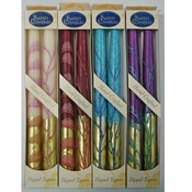 "10"" Taper Candles - 2-Packs - ""Gold Style"""