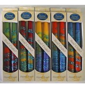 Wholesale 7.5&quot; Taper Candles - 2-Packs - &quot;Rainbow