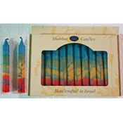 "5.5"" Shabbat Candles - 12-Packs - ""Harmony"""