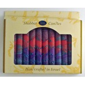 "5.5"" Shabbat Candles - 12-Packs - ""Sunrise"" Purple"