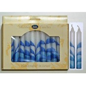 "5.5"" Shabbat Candles - 12-Packs - ""Tree"""