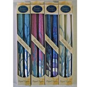 "Wholesale 10"" Taper Candles - 2-Packs - ""Silver St"