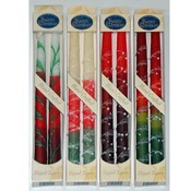 "Wholesale Holiday 10"" Taper Candles - 2-Packs -  A"