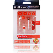 3.5mm Universal Earbud Headsets - Red