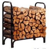 Log Rack 8&#39; Deluxe W/Cover