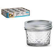 Ball Qlted Crystal Jar4Oz 12Pk