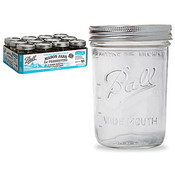 Ball Wide Mouth Jar W/Lid 12P