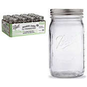 Ball Wide Mouth Quart Jar W/Lid 12P