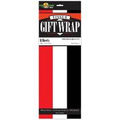 Red/White/Black Tissue Paper Wholesale Bulk