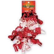 Curled Ribbon Bow Red Hearts Wholesale Bulk