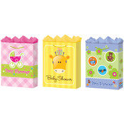 Jumbo Baby Shower Gift Bags (Matte) Wholesale Bulk