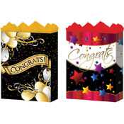 Jumbo Congrats Gift Bags (Gloss)