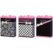Medium Pretty in Pink Gift Bags (Gloss)