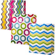 Gift Bag- Large Fusion- 3 Styles Wholesale Bulk
