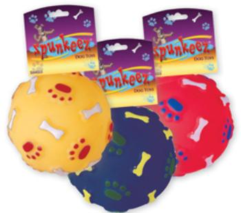 Spunkeez Dog TOYS Vinyl Ball [1483501]
